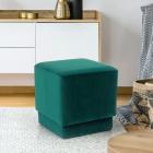 SCAV601 Scaun tapitat masa toaleta taburet machiaj Verde