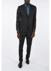 CC COLLECTION micro pinstriped drop 7 r 2 button suit