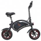 Bicicleta electrica pliabila roti 14 Kugoo Kirin baterie 6Ah Negru