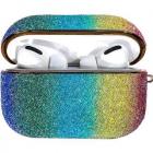 Husa De Protectie Rainbow shiny glitter Pentru Airpods Pro Multicolor