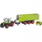 Jucarie Tractor cu Remorca cu Telecomanda RC Claas Axion 870 Scara 1 1