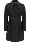 Double Breasted Cotton Trench Coat 615573 QQS44