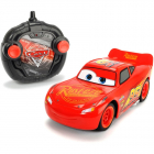 Masina Dickie Toys Cars 3 Turbo Racer Lightning McQueen cu telecomanda