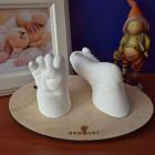Kit amprenta bebe manuta si piciorus