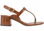 Thong Sandals In Brown LD211850CP30282106