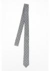 CC COLLECTION Silk Checked Slim Tie