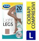 Scholl Ciorapi compresivi Light legs 20 Den Beige L