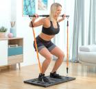 Sistem portabil complet de antrenament cu ghid de exerci ii