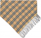 Vintage Check Double Layer Cashmere Bandana Scarf 4068872