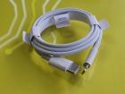Cablu de date Apple Lightning USB Type C 1m White