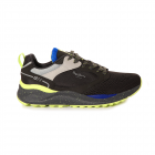 Pantofi sport b rba i Pepe Jeans negri cu detalii verde neon 3191BPS30