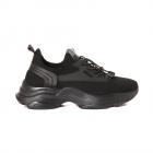 Pantofi sport femei TheZeus negri din material knitted 3761DPS905172N