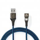 Cablu sincronizare si incarcare USB A tata Lightning 8 pini conector g
