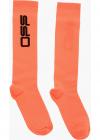 Embroidered Logo Long Socks