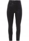 Croco Print Skinny Jeans JB003121 J01027