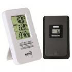 Termometru cu ceas Home HC 12 cu fir pentru interior si exterior