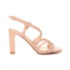 Sandale femei Solo Donna roz l cuite cu design geometric 2851DS1633LRO