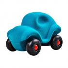 Jucarie din cauciuc Little Car Turquoise