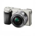 Aparat foto Mirrorless Alpha A6000 24 3 Mpx WiFi NFC Silver Kit 16 50m
