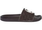 Gilmore Slides In Brown And Black 40S1GMFA2BBROWN