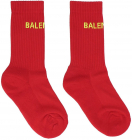 Tennis Season Socks In Red 540615372B46475