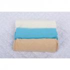 BabyNeeds Set 3 cearceafuri cu elastic 120x60 cm Alb Bleu Cappuccino