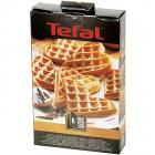 Set 2 placi pentru Vafe in forma de inima nr 6 Tefal Snack Collection