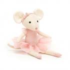 Jucarie de plus Pirouette Mouse Candy 27 cm