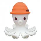 Jucarie dentitie Octopus Orange