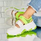 Adidasi Piele Ecologica Neon Stephanie X4483