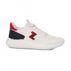 Pantofi sport femei TheZeus albi din material knitted 3731DPS22017A