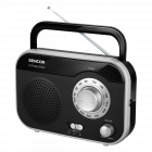Aparat radio SRD210BS portabil 1W RMS negru argintiu