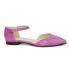 Sandale dama din piele naturala cu toc mic 5405