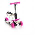 Trotineta pentru copii 10390020011 Smart Pink Butterfly