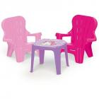 Set de masa cu scaune Unicorn