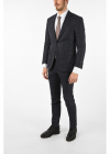 side vents houndstooth drop 7R 2 button ACADEMY suit