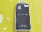 Husa de protectie Samsung Silicone Cover pentru Galaxy S20 S20 5G Blac