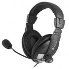 Casca multimedia cu microfon MSX9PRO negru NGS