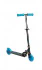 Scooter cu casca cotiere si genunchiere Toyz Tauro Albastru