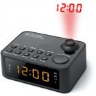 Radio cu ceas si proiectie M 178 P Black