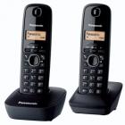 Telefon Dect twin cu Caller ID Negru