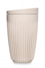 Cana de voiaj Huskee Cup Natural White L