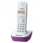 Telefon DECT cu CallerID alb mov