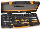 Set tubulare 1 4 si accesorii 39 piese BETA 900 C12M