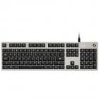 LOGITECH G413 Mechanical Gaming Keyboard SILVER US INTL USB INTNL WHIT