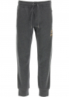 Jogging Trousers With Bee And Crown Lurex Embroidery GWJVAZ HU7IE