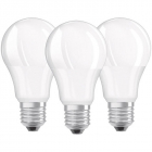 Set 3 becuri LED 9W E27 A60 4000K lumina neutra 806 llumeni A