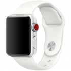 Curea silicon Smoothband Apple Watch 1 2 3 4 5 42 44mm White
