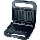 Sandwich maker SGX 750 Putere 750W Maner Termorezistent Negru Inox