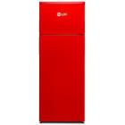 Frigider cu 2 usi LF 220 RED N Clasa F Capacitate 213L H 144cm Rosu